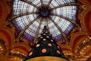 Sapin de noël des Galeries Lafayette