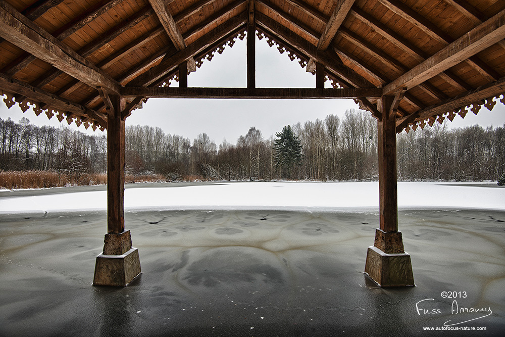 Embarcadère de l'étang des 3 ducs à Bonnelles