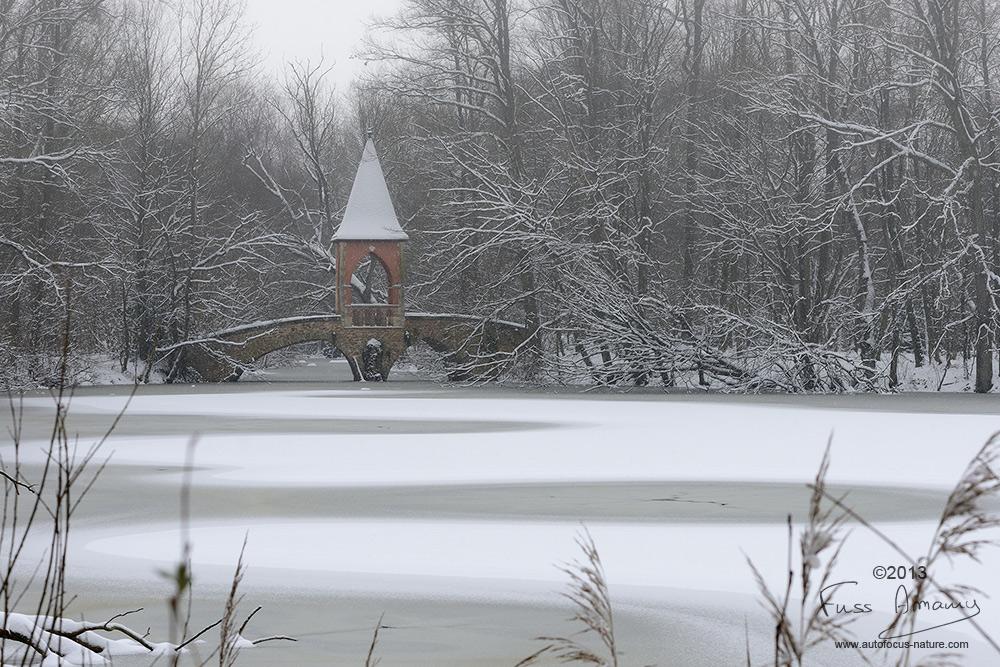 Kiosque du temple d'amour de l'étang des 3 ducs