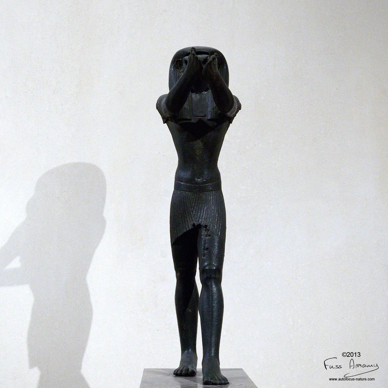 Musée du Louvre : Statue du dieu Horus