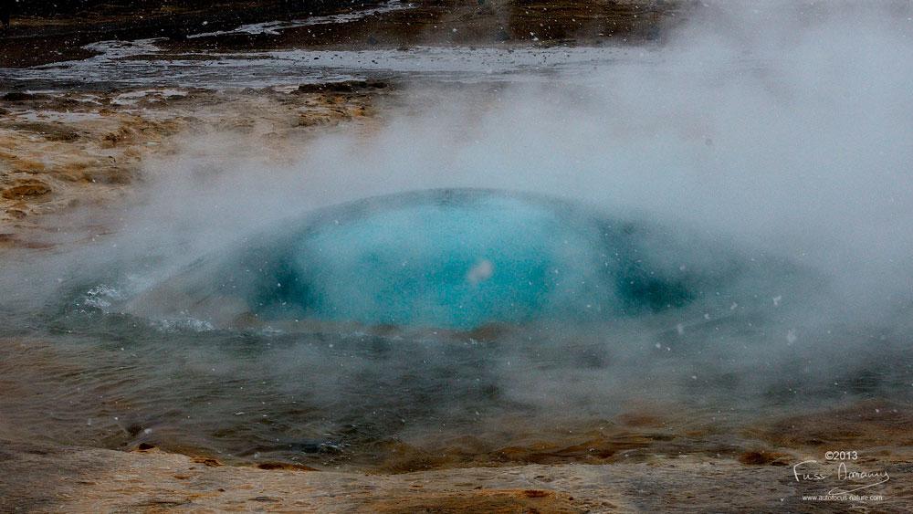 Geysir Bulle du geyser