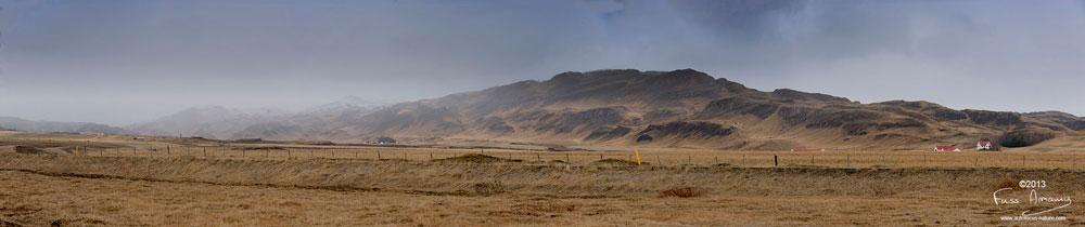 Islande Panorama Fludir
