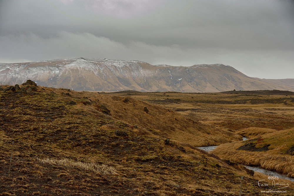 Islande route de Rangarvallavegur