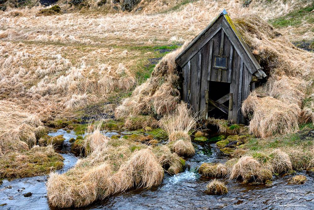 Islande, source d'eau