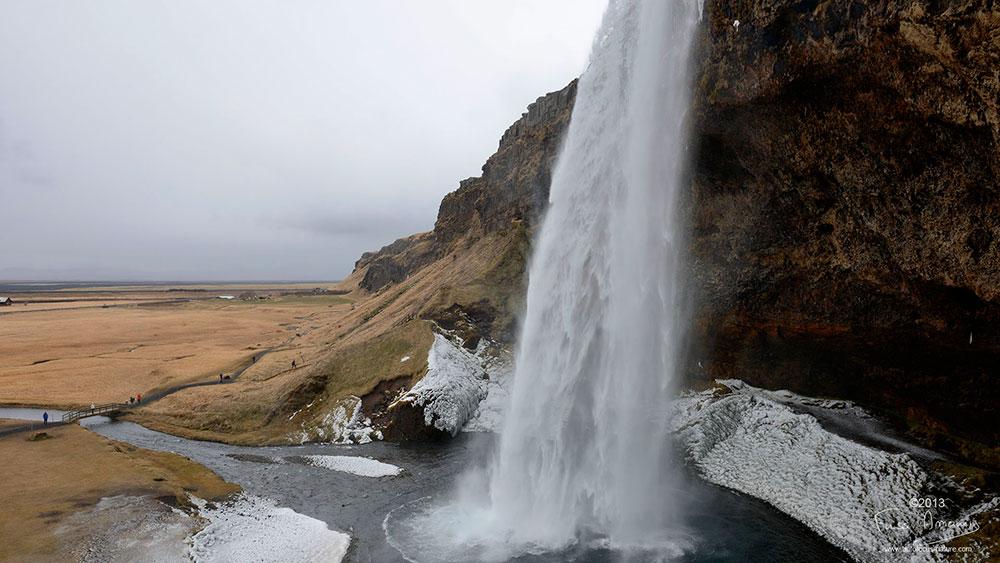 Islande Seljalandfoss