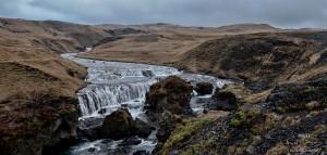 Islande Skogafoss skogara