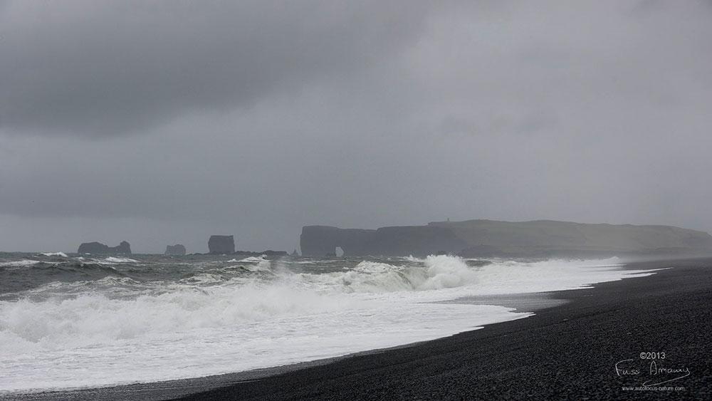 Islande Vik plage