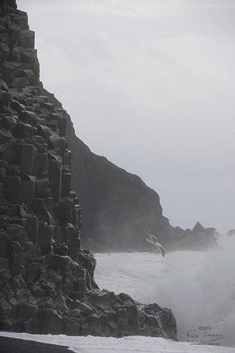 Islande Vik, orgues basaltiques