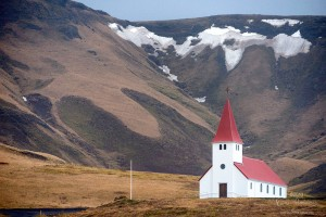 Islande Vik Mýrdalsjökull