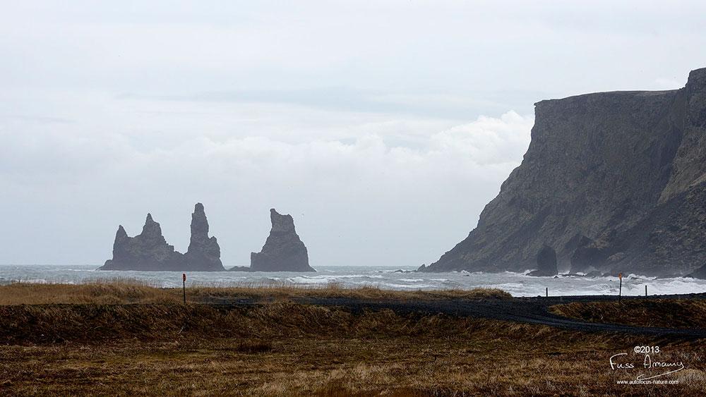 Islande reynisdrangar
