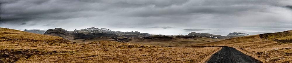 Islande N214 Kerlingardalsvegur