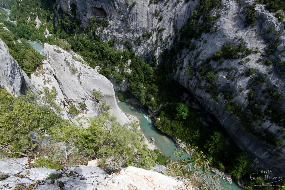 Gorges du Verdon, Sentier Martel, Brèche Imbert