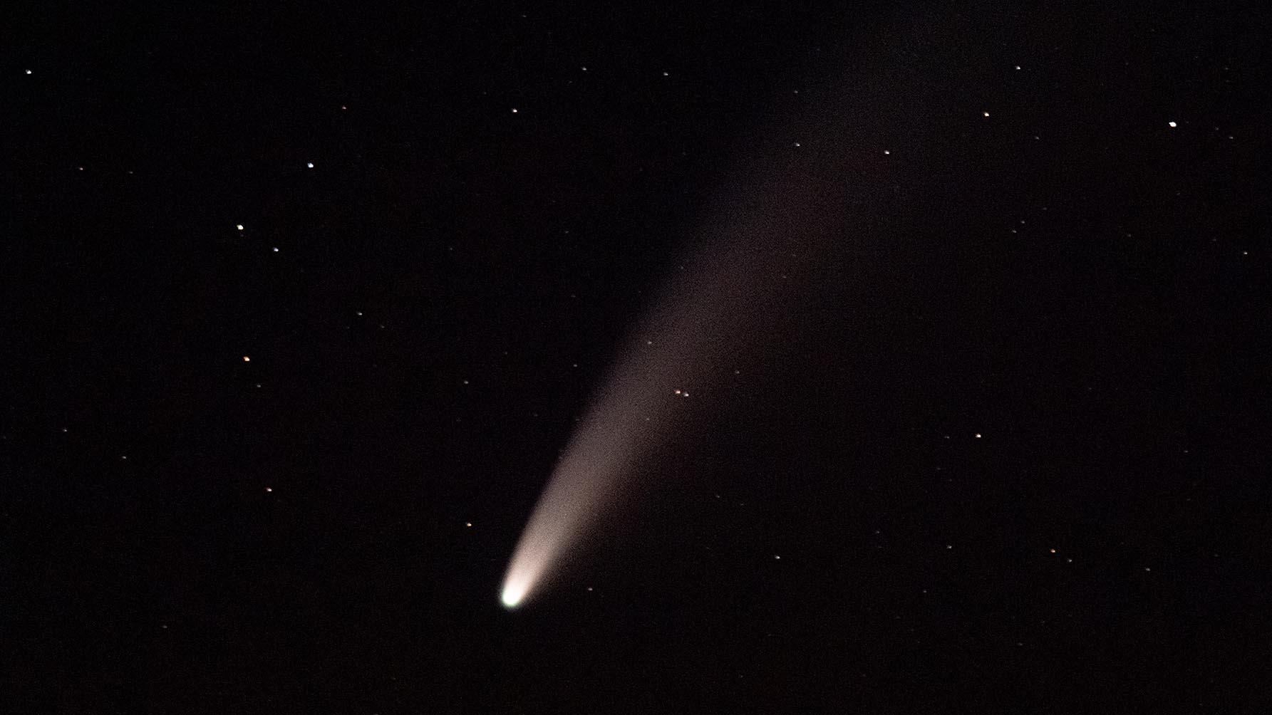 Comète Neowise depuis le Hohneck