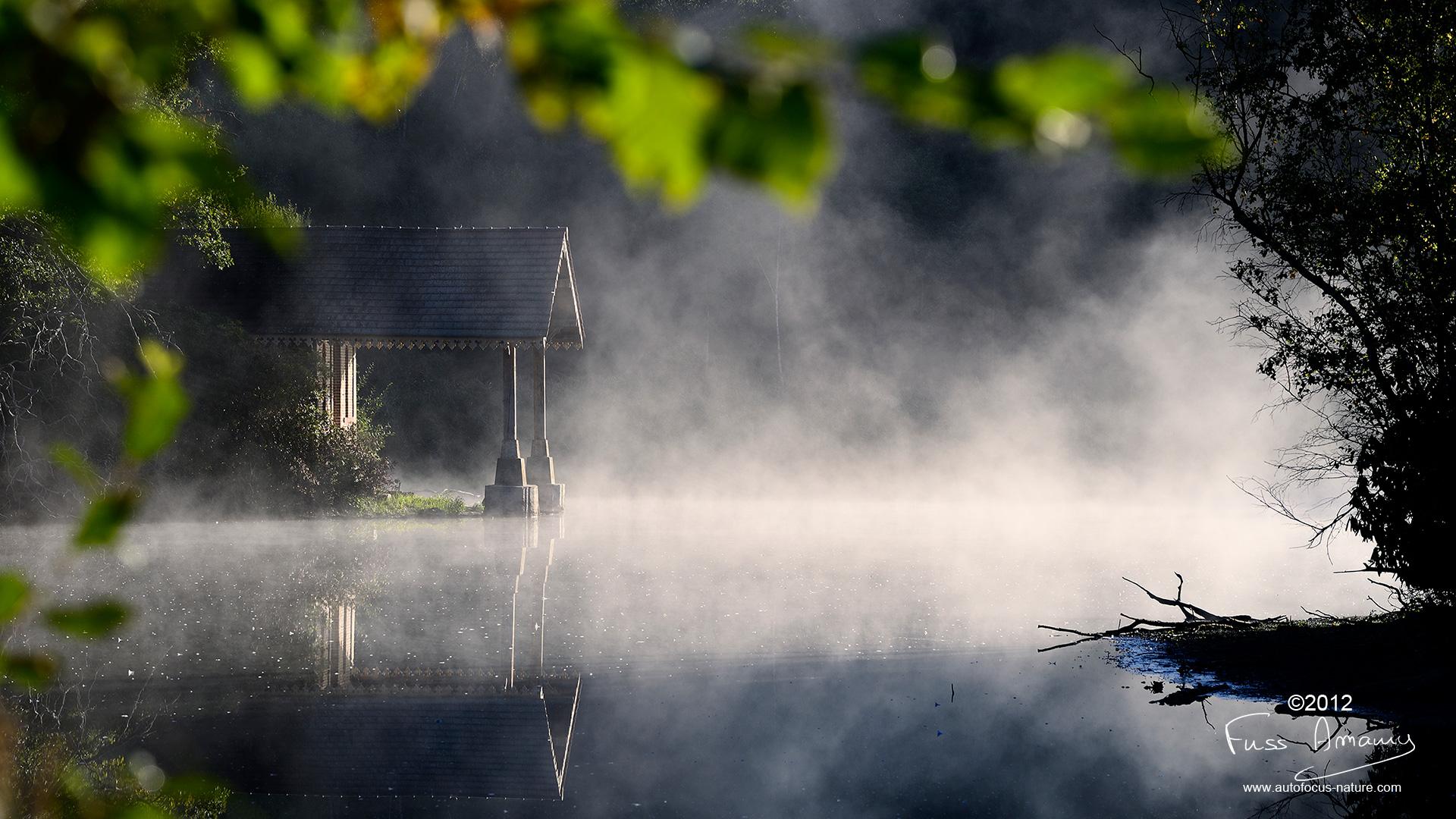 Embarcadère de l'étang des 3 ducs